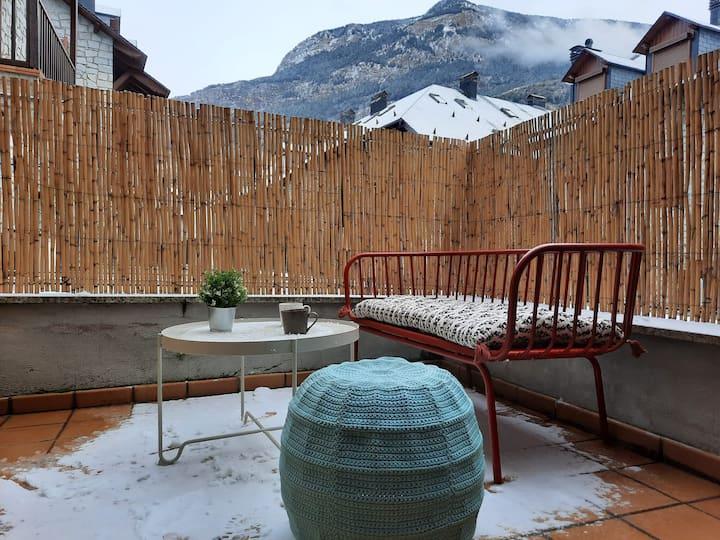 Acogedor apartamento con terraza