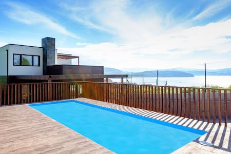 Ecocasa de O Freixo, spectacular sea views