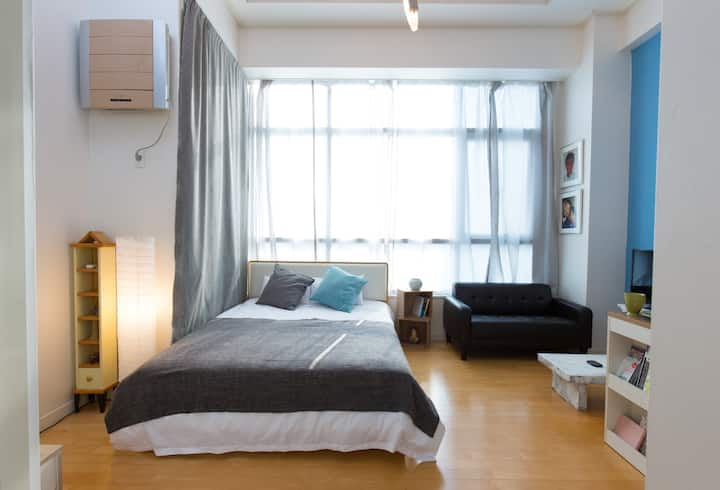 Seoul station Loft with Sky-high view 14