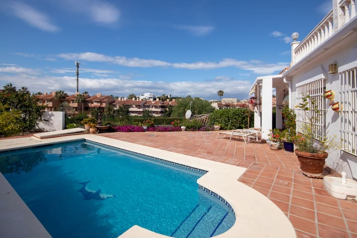Villa with Private Pool and Sea Views in El Faro