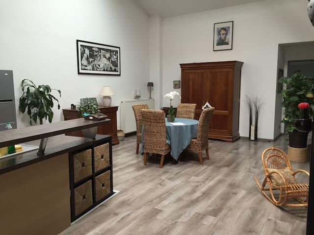 Loft cosy 160 m2 à 10 min de Nancy - Gondreville