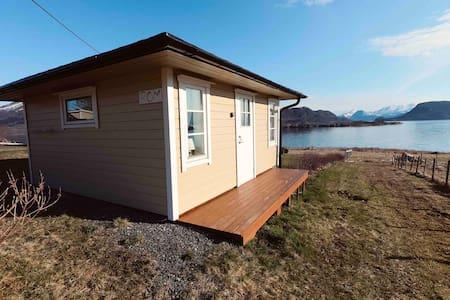 Gjestehus med flott utsikt over Meløyfjorden