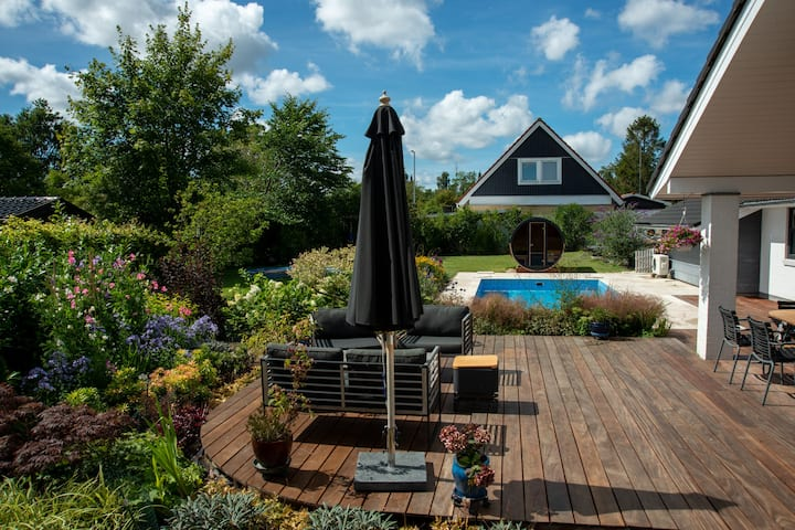 Lovely house, 5 min to beach/forest