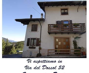 Overmountain cozy room, 10 min from city - Trento