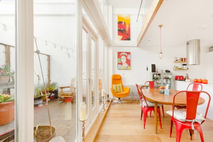 Take Tea in Renovated 1858 Victorian Apple Factory