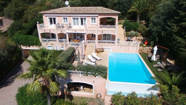Luxury Villa, Sea View, Heated Pool