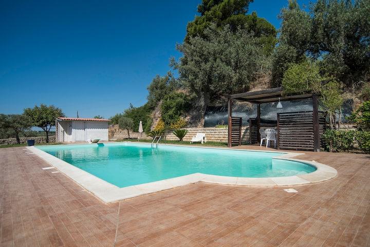 Casa Eracle - Amazing Villa+swimming pool+nature
