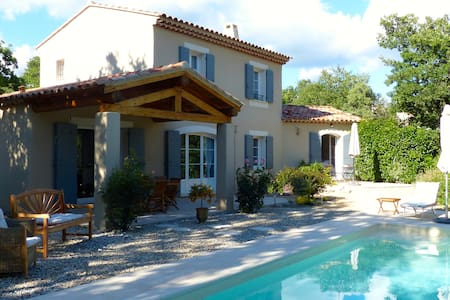 Villa 2 pers. BandB in Provence.80-110€.serenity. - Entrechaux - Bed & Breakfast
