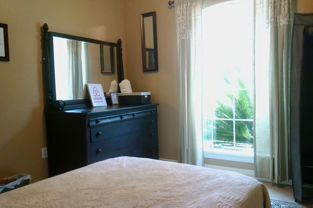 Ordinarily a guest room for friends and family, we occasionally open the Hospitality Room at a low price for those going through a tough time or for a large group that needs another bed.