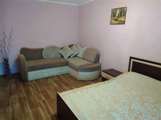 Cozy apartment in the center (Sotsgorod)