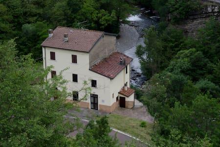 La casa sul fiume fra verde e acqua - Hus