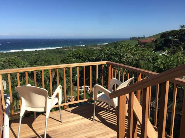 Panoramic seaviews from private room in Westbrook - Westbrook - Huis
