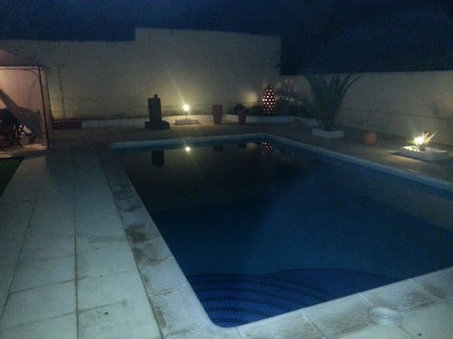 Big bright house with swimming pool near Zoco :) . - San Javier