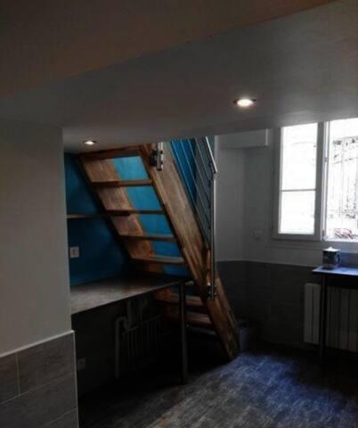 Studio meublé 2 pas de gare de Lyon et Bastille