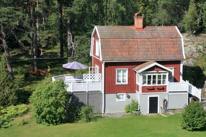 Villa Solbacken. Guesthouse archipelago near Sthlm