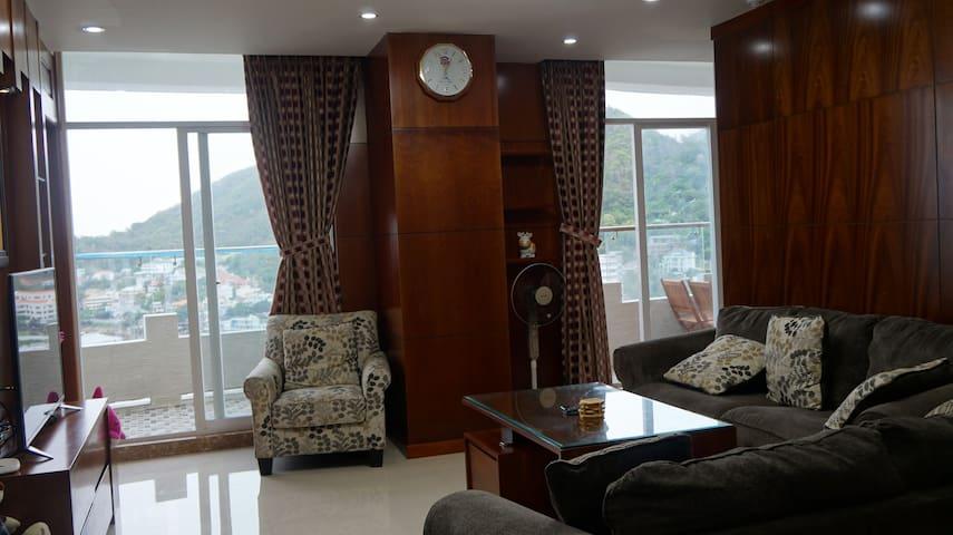 Wonderful seaview Apartment ,3 bed room - tp. Vũng Tàu - Appartement