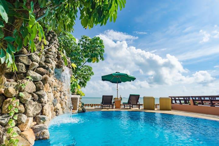 Beautiful Beachfront 3 Bedroom Villa with pool - Surat Thani - Villa