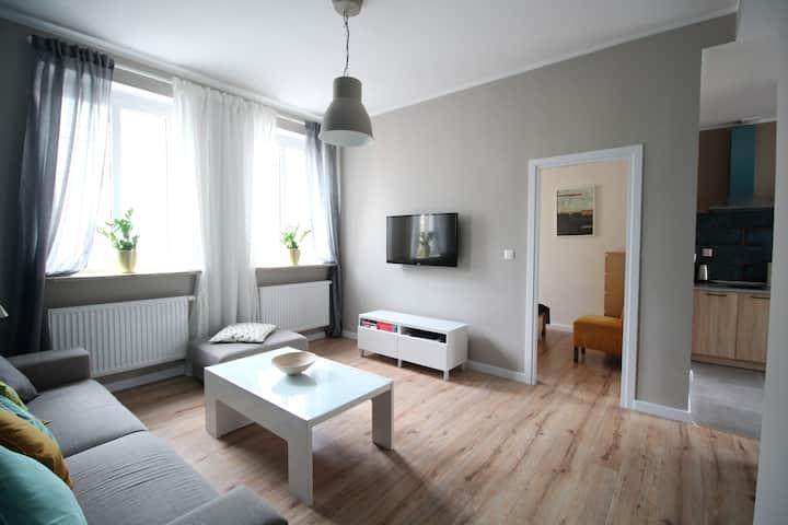 BURBON - Apartament Gdynia Śródmieście 2 pokoje
