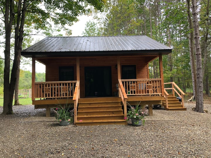Tiny House at Take A Break Hideaway-Letchworth SP