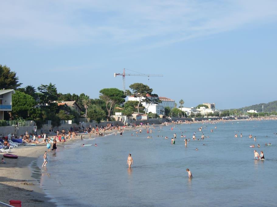 La plage de Mar Vivo