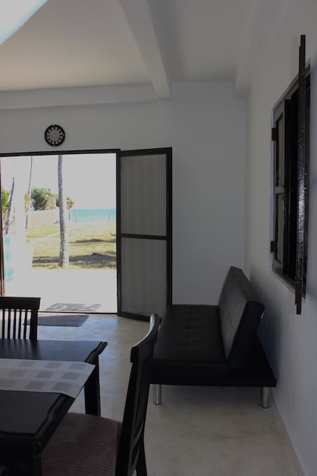 View from ground floor living area