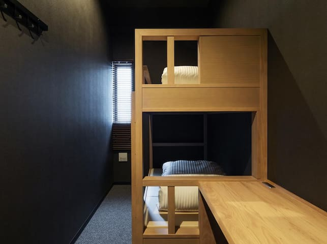 9 C Hotel Asahikawa Single w/ Bunk Bed No Smoking