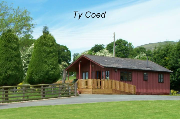 Ty Coed is an attractive 4 star timber chalet.