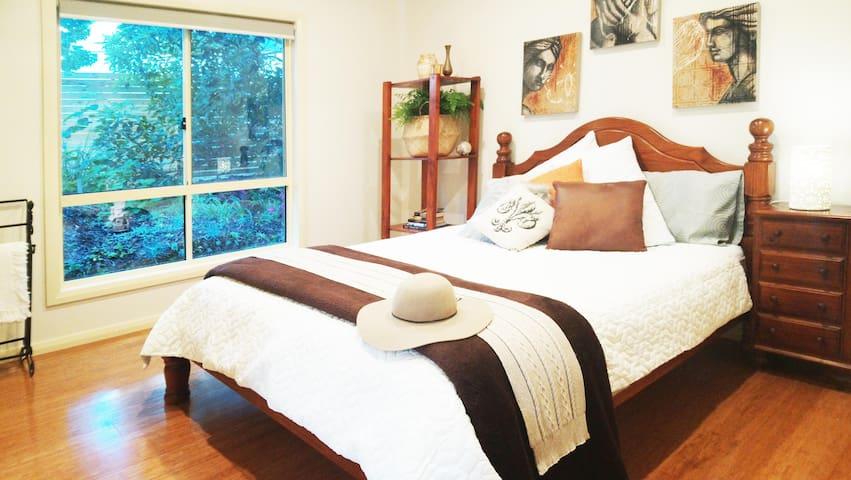 Crisp, clean bedding.