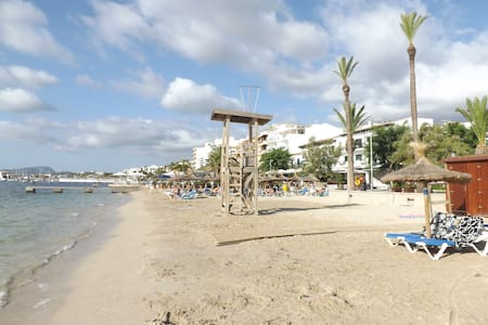 Attractive 2 bed Apartment 20 steps from the beach - Pollença