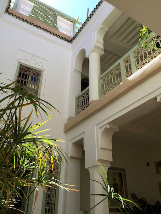 Wa want our Riad to be an Oasis of calm and serenity in the middle of the Medina's mayhem