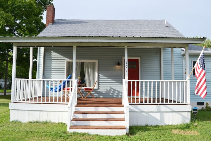 Front Porch with Hammock and Keyless Entry