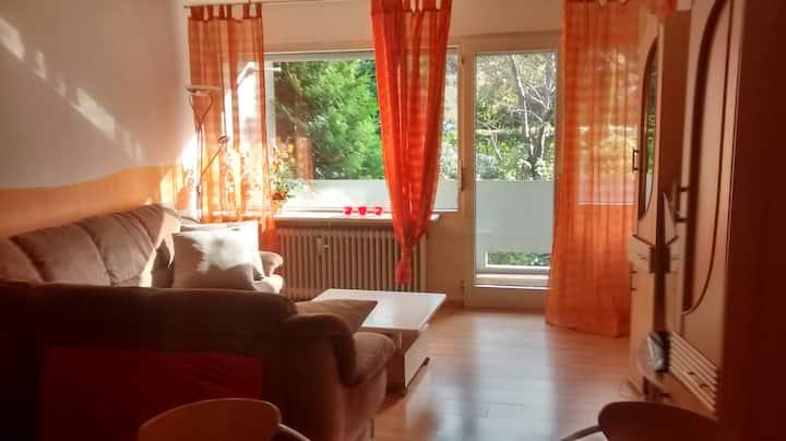 Gemütliche Ferienwohnung mit 2 Balkonen