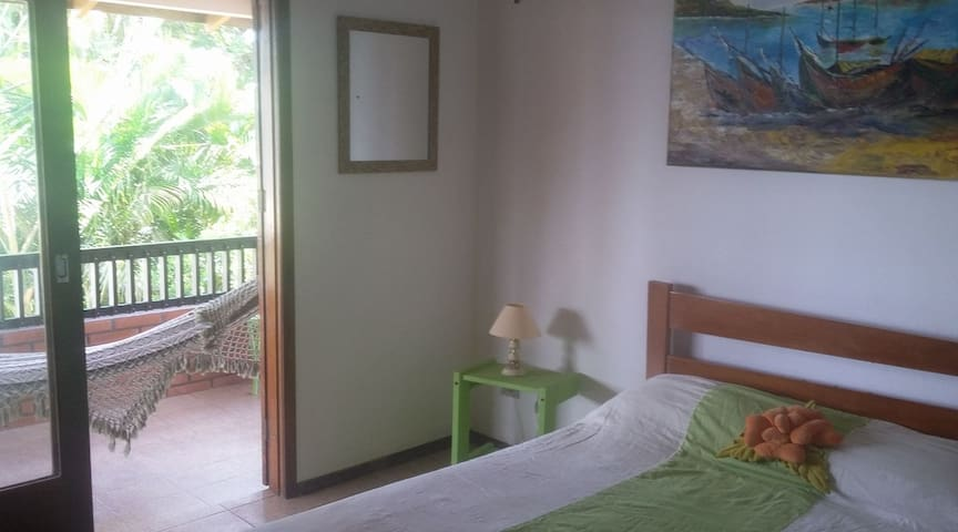 Room 2 - House to the beach - Penha - บ้าน