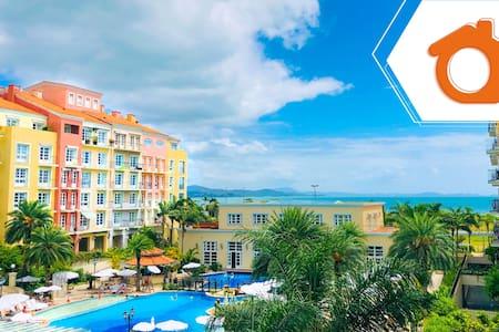Comodidad en resort Jurerê Internacional ILC2412