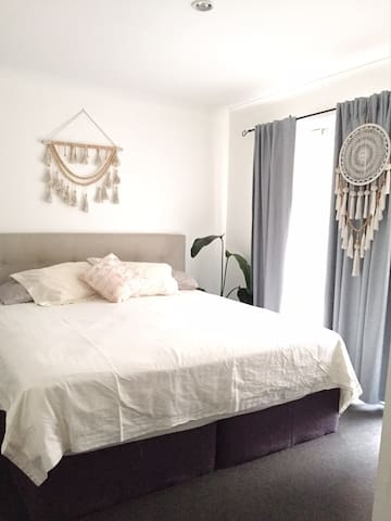 Master room with super comfy King size bed