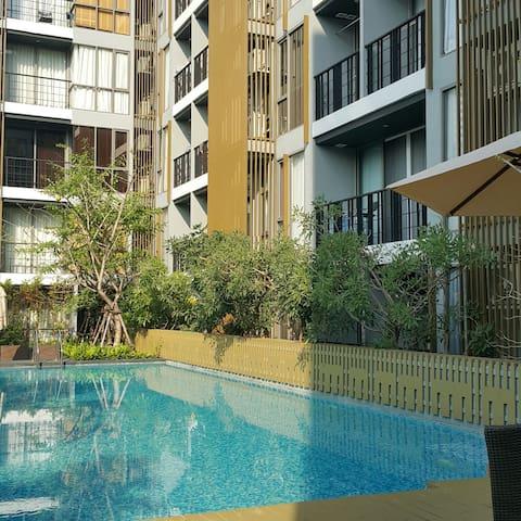 BTS Saladaeng+home away from home+中文溝通 - Bangkok - Condominio