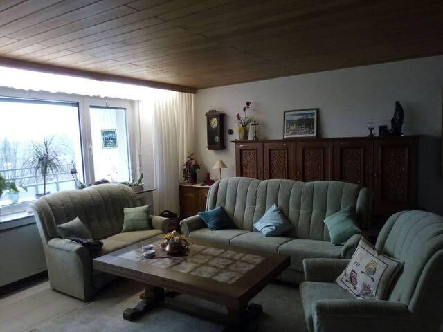 Ruhig gelegene Wohnung für bis zu 4 Personen