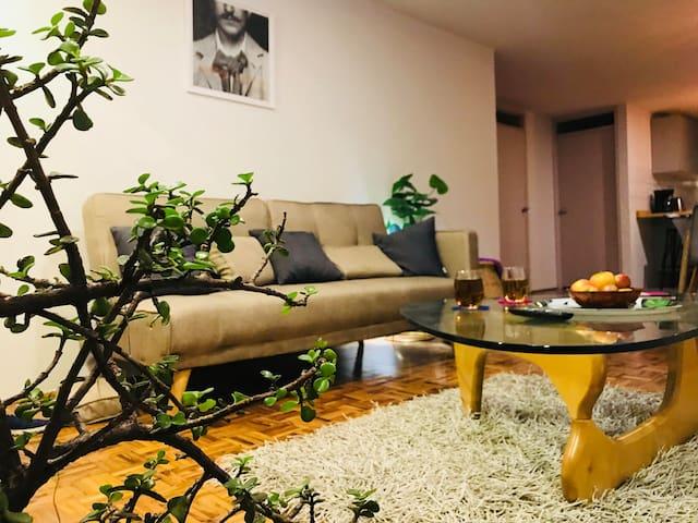 Suite Condesa de 2 dormitorios con patio