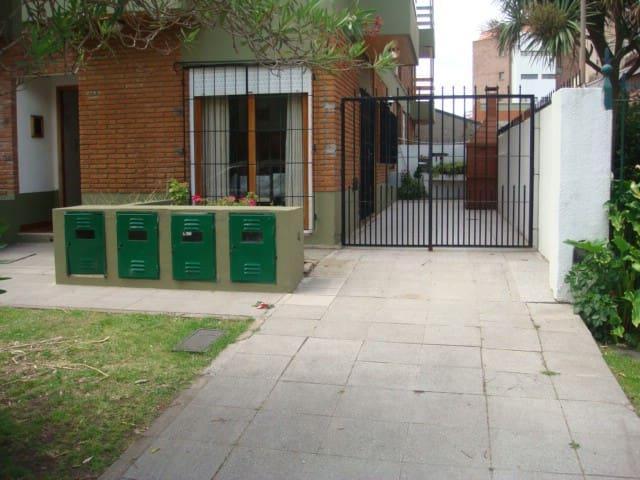 Dpto 2 ambientes c/ cochera y parrilla.Pta Mogotes - Mar del Plata - Apartment