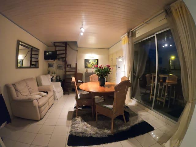 Appartement Duplex vue pleine mer 6 pers
