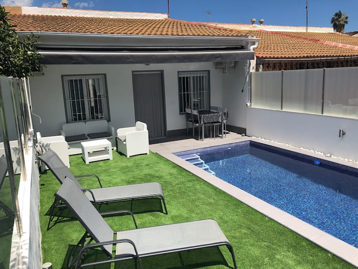 Luxury private home with pool  San Javier Murcia