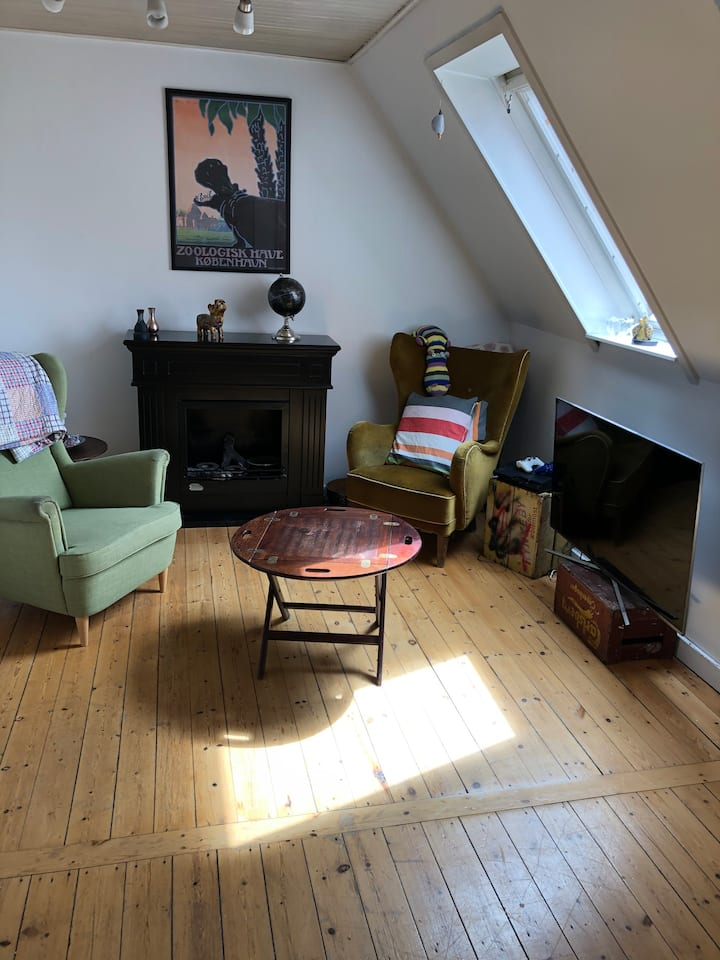 Perfect location and big spacy charming apartment.
