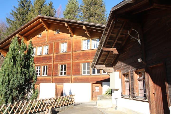 Chalet 9 ( ganzes Haus ) - Innertkirchen - Casa