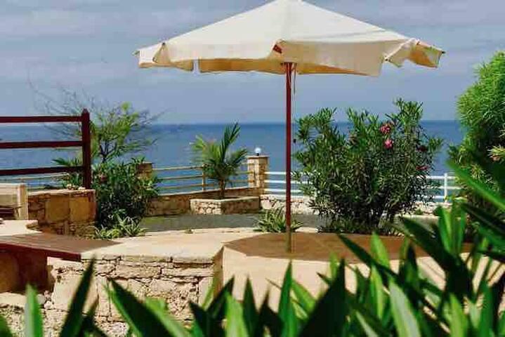 Casita mit Gemeinschaftspool Pool und Badebucht