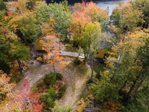 Superbes chalets sur la rivière Tusket.