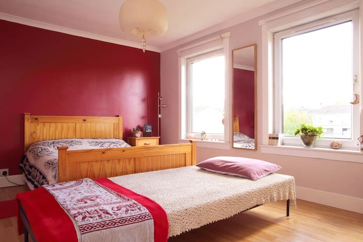 A Colourful Oasis Of Calm And Wellbeing - Edinburgh - Apartment