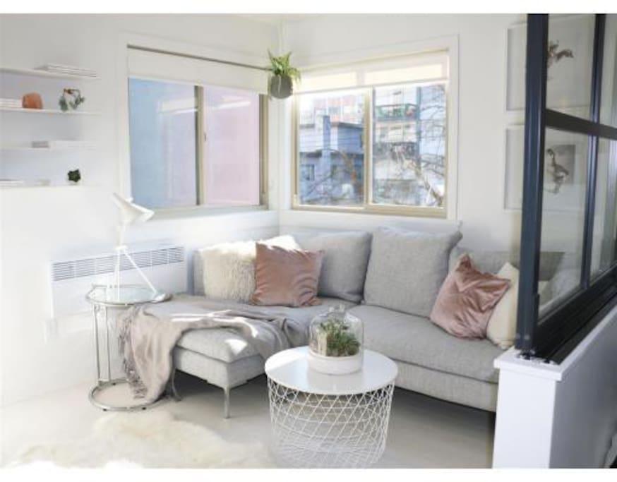 Sunny South East Corner Suite
