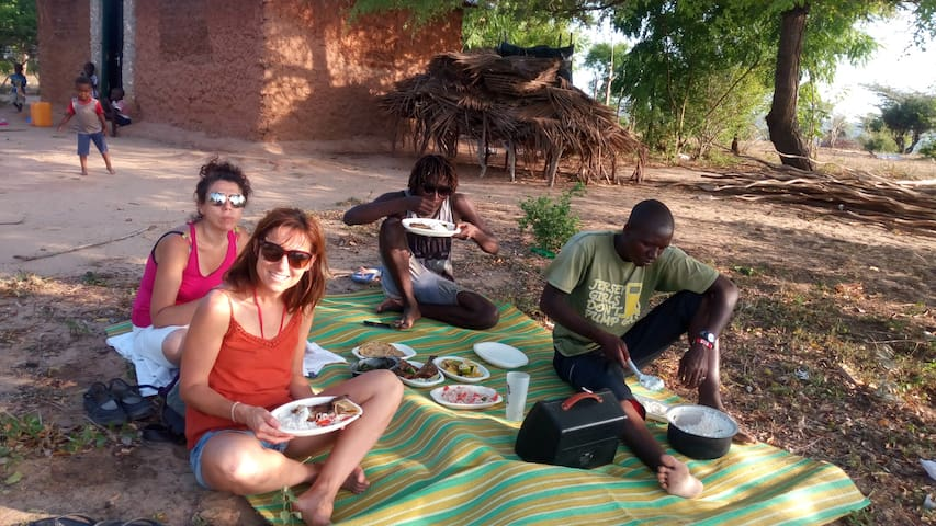 Bed & Breakfast the traditional African way