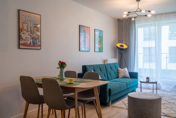 Green Loft Apartment in Cracow City Centre by AS