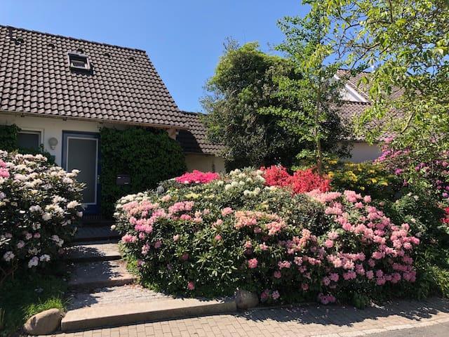 Ferienzimmer in ruhiger Lage mit Schlossblick